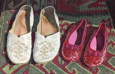 Nana and Ellie's shoes