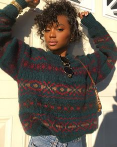 hairstyles low maintenance to easy curly hairstyles hairstyles loose hairstyles boys hairstyles square face haircut kent hairstyles for black women hair cartoon Fashion Moda, 90s Fashion, Fashion Outfits, Black Girl Fashion, Mode Outfits, Fall Outfits, Vetements Shoes, Black Is Beautiful, Look Cool