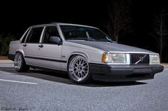 slammed volvo...nice and clean