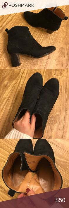 jcrew leather ankle boots 80%new plz make offers Insoles are genuine leather as well true to size J. Crew Shoes Ankle Boots & Booties