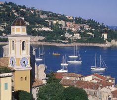 Seaside village of Villefranche, Provence, France