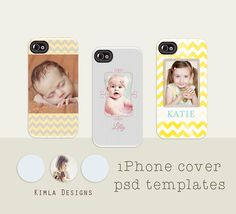 #kimla designs | #templates for photographers #iPhone cover template