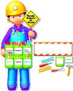 Handy Helpers Back To School Bulletin Board Set