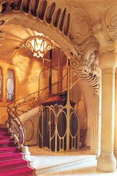 Casa sayrach, barcelona, 1918 spain (see also gaudi) in 2019 Architecture Art Nouveau, Beautiful Architecture, Beautiful Buildings, Art And Architecture, Architecture Details, Modern Buildings, Art Nouveau Arquitectura, Antonio Gaudi, Jugendstil Design