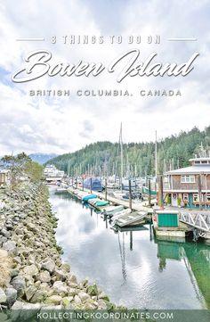 Kollecting Koordinates - Things to do on Bowen Island
