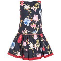 Vestido piquet estamp floreal