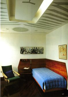 """Gio Ponti / would be great as a tiny """"guest room"""""""