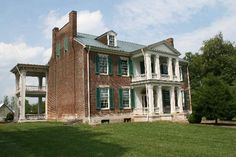 Carnton Plantation and Confederate Cemetery- Franklin Tennessee