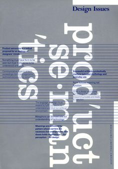 Issue 5:2 (Spring 1989) | Designer: Peter Megert