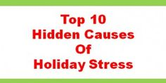 Helpful advice for reducing holiday stress. http://ormanstressrelief.com/holidaywebinar