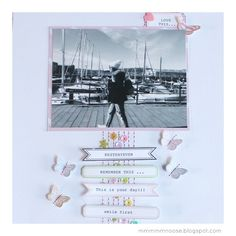 layout, scrapbooking