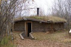 little sod house idea...garden shed?