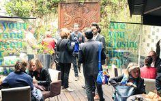 Celebrating #Interbrand's Best Global Green Brands 2013 at L'Elysée Lounge in Paris.