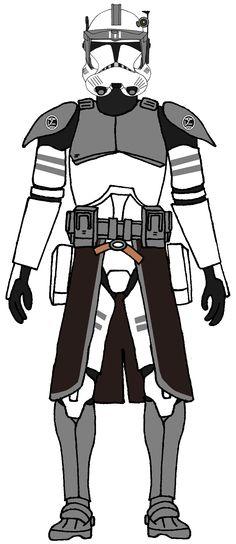 Clone Commander Kamino Guards