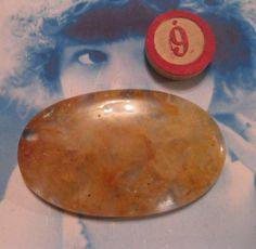 Semi Precious Stone Yellow Quartz Large by dimestoreemporium, $7.00