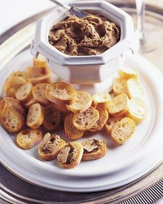 Chicken Liver Pate with White Truffles Appetizer Recipe