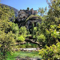 Fontaine-de-Vaucluse Photos Du, Great Photos, Provence, Big Spring, Summer, Nature Landscape, France, Photo Instagram, So Little Time
