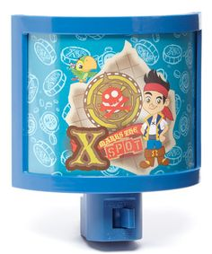 Look what I found on #zulily! Jake & the Neverland Pirates Curved Plug-In Night Light #zulilyfinds