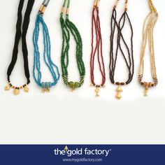 Colourful, beaded tussel-hars that evoke your many moods and match the endless variety of your wardrobe. All in 22K gold, and all at unbelievable prices. Only from your very own Gold Factory.