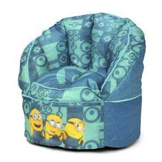 Minions Kids Bean Bag Chair Multicolor