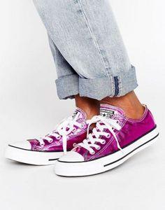 Converse Chuck Taylor All Star Ox Metallic Sneakers 64b61e60a13