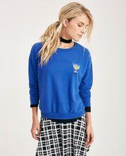 Lit Hanukkah Menorah Embroidered Soft Pullover Lit Hanukkah Menorah Embroidered Soft Pullover
