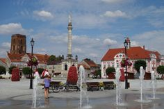 Flower Tower Gostyń, Poland Flower Tower, Towers, Poland, Street View, Group, Summer, Travel, Summer Time, Viajes