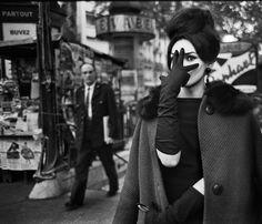 Christer Strömholm. Nana, Place Blanche, Paris 1961.