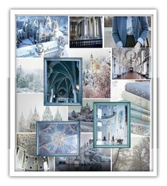 """""""Beauxbatons Academy in winter"""" by athena637 ❤ liked on Polyvore featuring art"""
