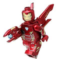 Lego Iron Man °° Lego Marvel 2, Lego Ironman, Lego Spiderman, Marvel Avengers, Lego Robot, Lego Man, Lego Ninjago, Lego Custom Minifigures, Lego Minifigs