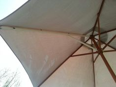 Fixed My Hammy Down Patio Umbrella After A Bad Wind Storm And I Am A