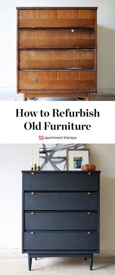 "How To Refurbish Old Furniture | As the popularity of mid-century modern furniture has risen, so have the prices. Finding an ""MCM gem"" for anything less than a few hundred bucks has become rare, so any kind of flea market find with a little damage should be looked at as a project possibility."