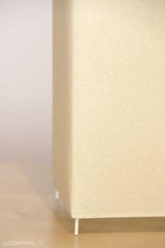 Lámpara de mesa.  35 x 14 cm  BASICA por LuzdePapel en Etsy