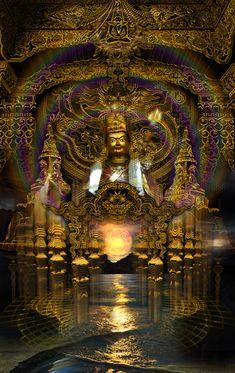 Amazing psychedelic art by Luminokaya lab