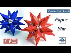 Ornament Tutorial, Paper Stars, Star Ornament, Origami Paper, Gift Wrapping, Youtube, Dads, Gifts, Paper