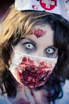 zombie nurse nikki by nikkinackdeviantartcom - Zombies Pictures For Halloween