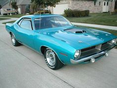 1970 Plymouth Hemi Cuda.