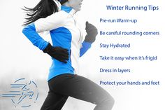 Here are some tips for running during the winter time. Winter Running, Keep Running, Running Tips, Physical Therapy, Winter Time, Athlete, Women, Jogging Tips, Physical Therapist