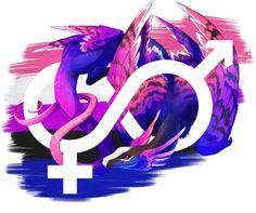 Pride Dragon, Genderfluid