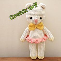 We chose amigurumi teddy bear models – Amigurumi Models Crochet Bear, Crochet Animals, Crochet Toys, Crochet Teddy, Amigurumi Toys, Amigurumi Patterns, Crochet Motifs, Crochet Patterns, Amigurumi For Beginners