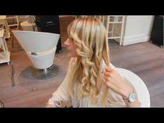 How to: Krullen maken met CHI stijl-tang - YouTube