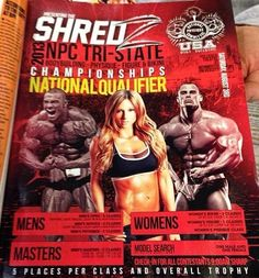 A special thanks to Shredz for placing the full-page ad in the latest edition of FLEX Magazine for the 2013 NPC Tri-State Championships?!   Gym Heroes is a sponsor--we will be there, will you!?