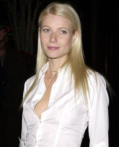 Gwyneth Paltrow, 2001  Paltrow also rocked the white shirt-and-maxi pairing on the red carpet, wow-ing all at the Los Angeles premiere of Snatch.