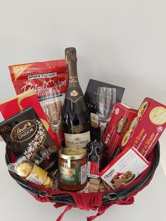 Premium Gift Basket for New Years Eve!