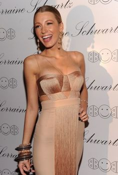 Blake Lively.  Great site for couture gowns