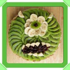 Monsters Inc. Tart - Creative And Healthy Fun Food Ideas