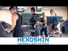 Hexoskin:  A range of senor enabled 'smart clothing' for fitness training that monitors elements such as heart rate, breathing rate and movement. A companion device hooks up to a smartphone or tablet for tracking and analytics.