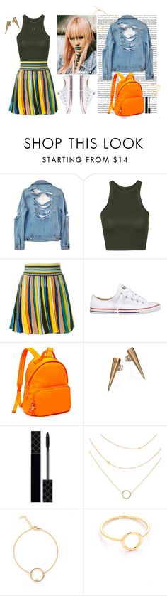 """""""90s Grunge Inspired"""" by ashluuh ❤ liked on Polyvore featuring Oris, High Heels Suicide, Topshop, Missoni, Converse, Tommy Hilfiger, Bing Bang, Gucci, Shashi and grunge"""