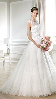 Stunning White One Bridal Collection from Barcelona! http://www.modwedding.com/2014/03/19/white-one-wedding-dresses-barcelona/ #wedding #weddings #fashion #dresses #weddingdress