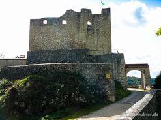 Burg Derneck in der Schwäbischen Alb im Tal der Großen Lauter. #SchwäbischeAlb #Burgen